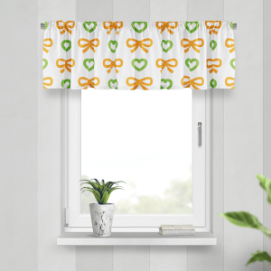 Lambrekin - BOWS&HEARTS ORANGE